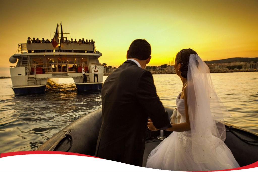 Mariage à bord